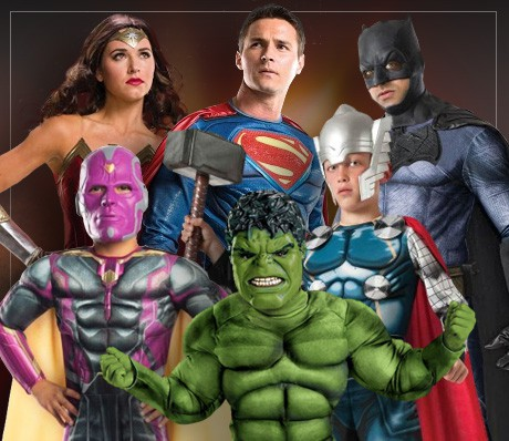 Superheroes & Villains Costumes