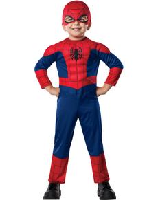 Ultimate Spiderman mini deluxe costume for a child
