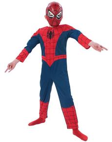Boys Ultimate Spiderman Muscular Costume
