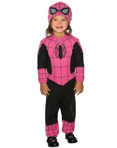 Baby's Pink Spidergirl Costume